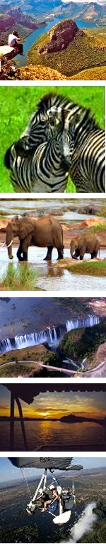 Kruger & Victoria Falls Lodge Safari