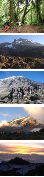 Kilimanjaro Climb Machame Route Full Moon Summit