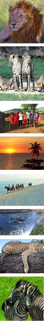 Game Parks, Zanzibar & Mozambique