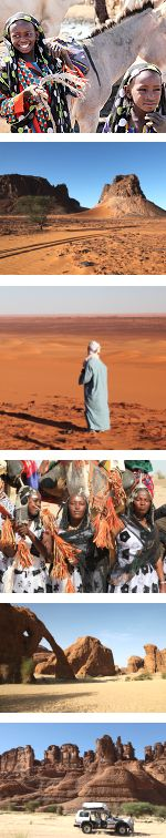 Expedition to the Ennedi Mountain in Chad