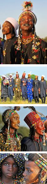The Gerewol Festival in Chad