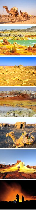 Djibouti and the Danakil Depression