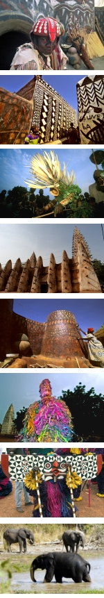 Burkina Faso - Festival of the Dancing Masks