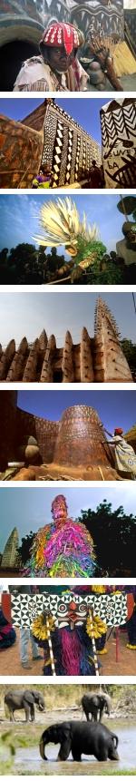 Burkina Faso - Festival of the Dancing Masks