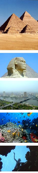 Egypt - Cairo tour and Sharm El Sheikh