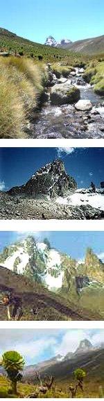 5 Days Mount Kenya Clima Sirimon-Sirimon